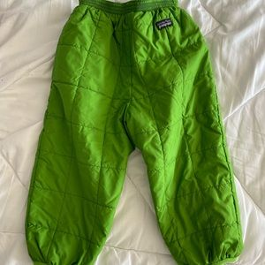 VGUC Patagonia puffball pants size 3T